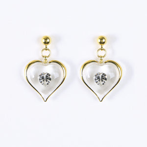 April Birthstone Earrings