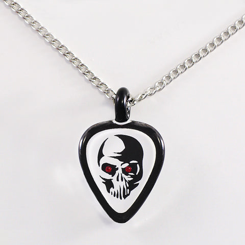 Guitar Pick with Skull