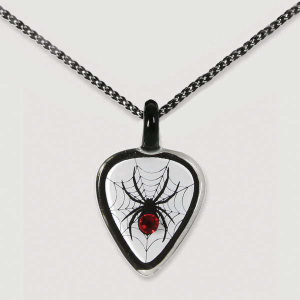 Guitar Pick with Spider