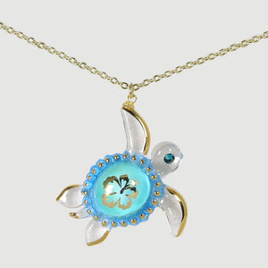 Aloha Sea Turtle Necklace