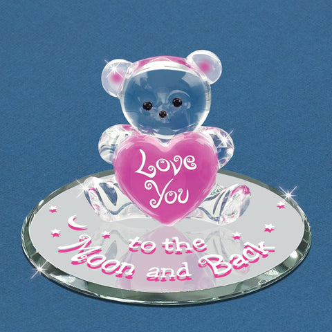 "Pink ""To the Moon & Back"" Bear"
