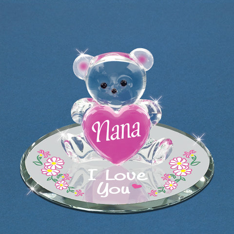 """Love You Nana"" Bear and Heart"