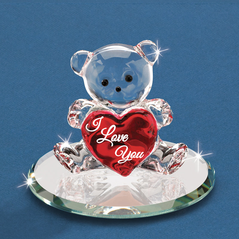"""I Love You"" Bear with Heart"