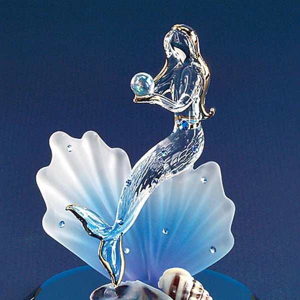 Mermaid on Blue Coral