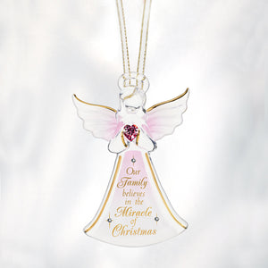 """Miracle of Christmas"" Angel Ornament"