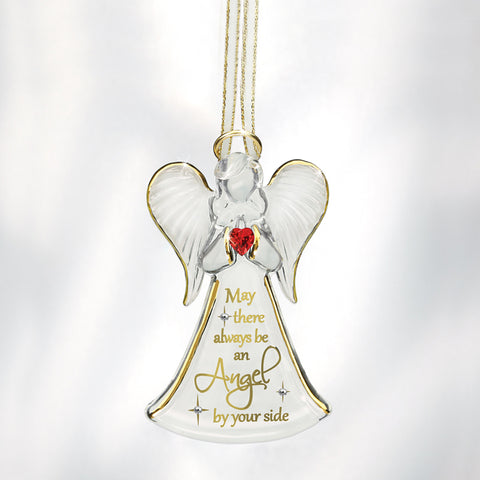 """Angel by Your Side"" Angel Ornament"