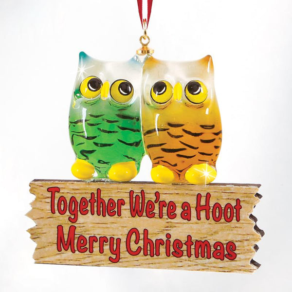 We're a Hoot Ornament