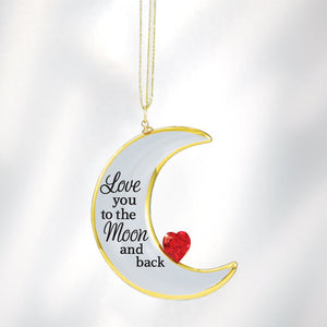 """Love You to the Moon"" Ornament"