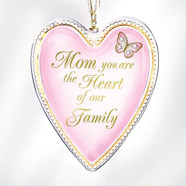 """Heart of Our Family"" Ornament"