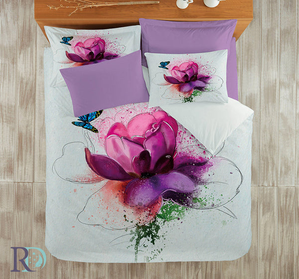 Cotton Sateen 3D Print Bedding Sets