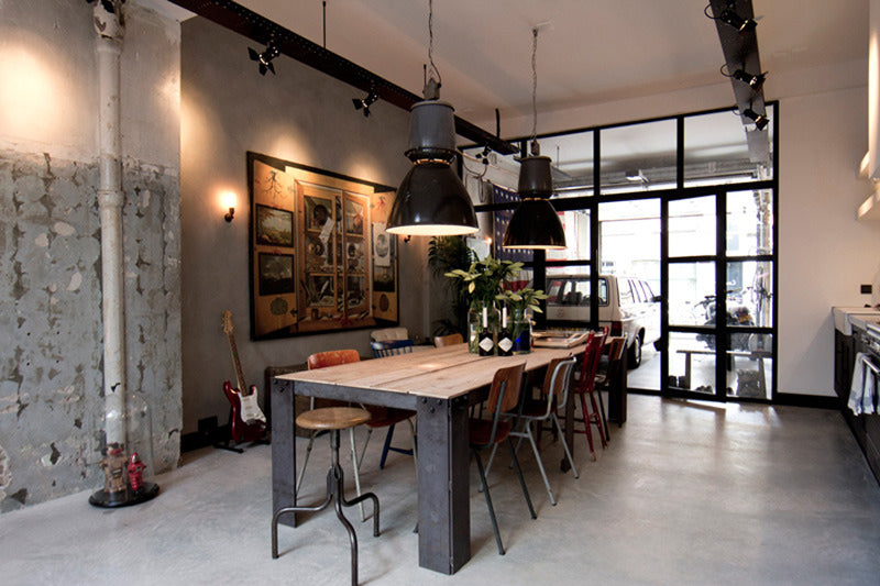 5 Swoon Worthy Industrial Inspired Dining Rooms