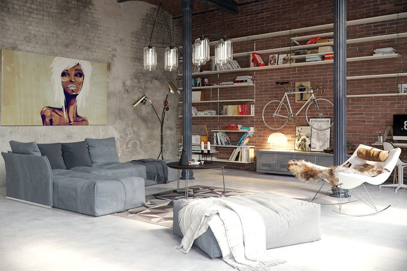 How to incorporate soft industrial interior design into your home
