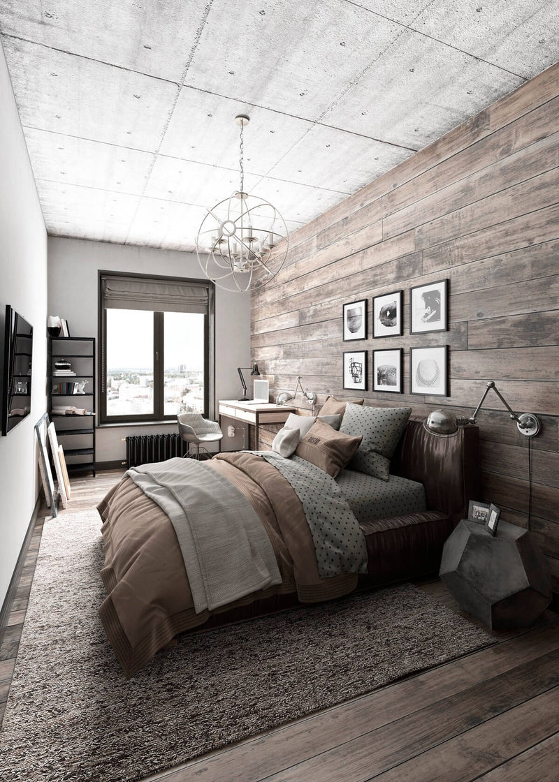 5 Elements of an Industrial Inspired Bedroom