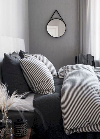 Industrial Inspired Bedroom Muted Colour Palette