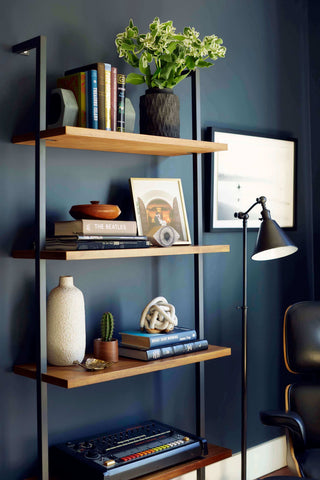 Industrial Inspired Bedroom Shelving