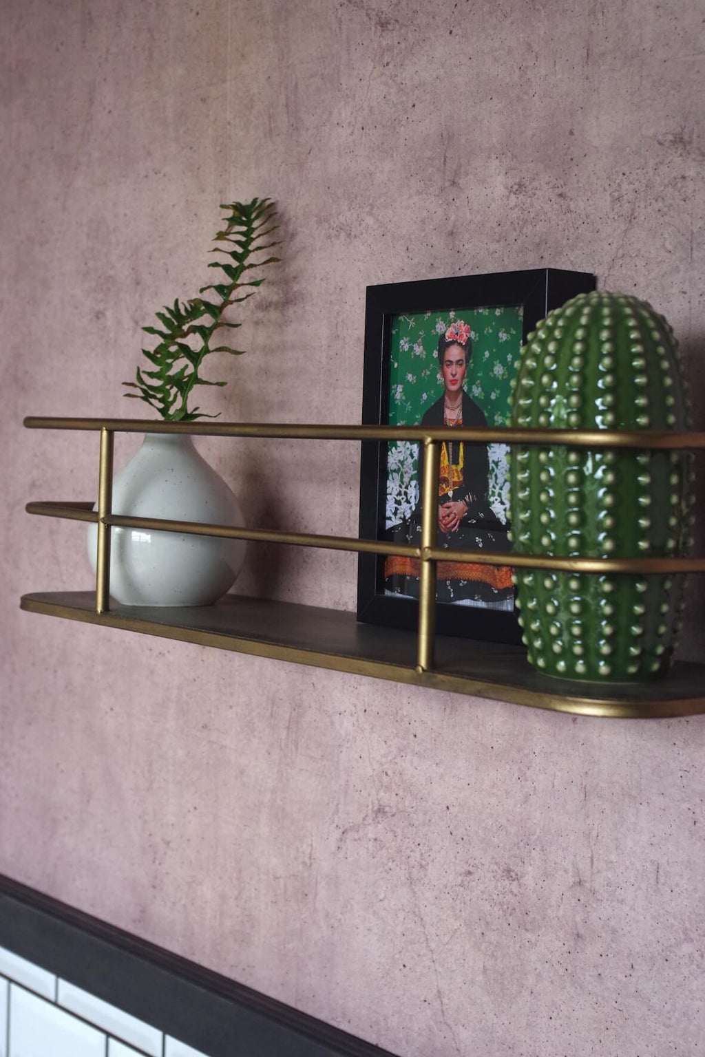 Brass Display Shelf