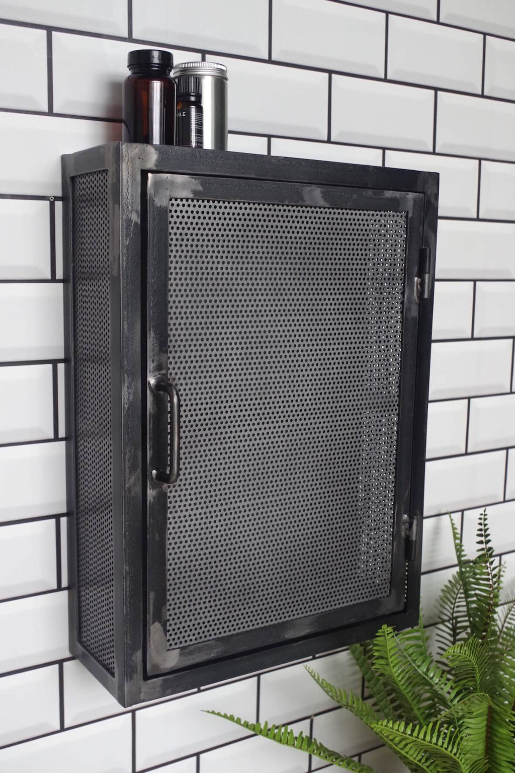 Industrial Perforated Wall Cabinet