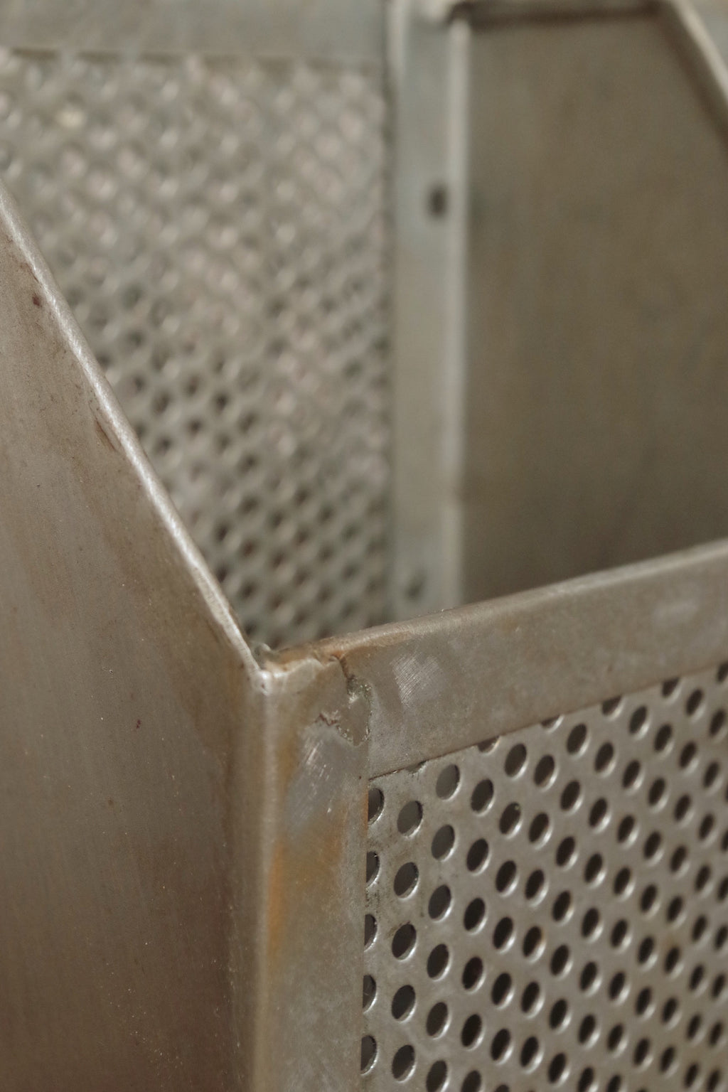Perforated metal Desk Tidy.