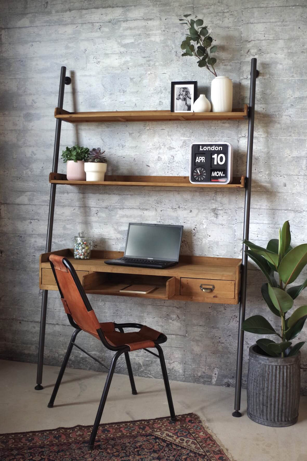 Rustic Ladder Desk