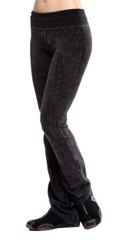 T-Party Acid Mineral Washed Yoga Pants - Fashion Sense - 1