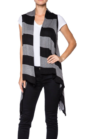 Cardigan Sweater Vest - Fashion Sense - 1