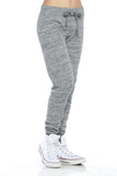 "Trendy 2-Tone ""Love"" Terry Webbing Jogger Pants - Fashion Sense - 2"