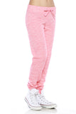 "Trendy 2-Tone ""Love"" Terry Webbing Jogger Pants - Fashion Sense - 7"