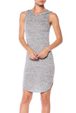 Hoodie Sleeveless Dress - Fashion Sense - 1