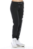 "Trendy 2-Tone ""Love"" Terry Webbing Jogger Pants - Fashion Sense - 11"