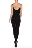 Sexy Form Fitting American Strapped Catsuit - Fashion Sense - 9