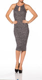 Bodycon Casual Sweater Dress - Fashion Sense - 1