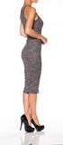 Bodycon Casual Sweater Dress - Fashion Sense - 4