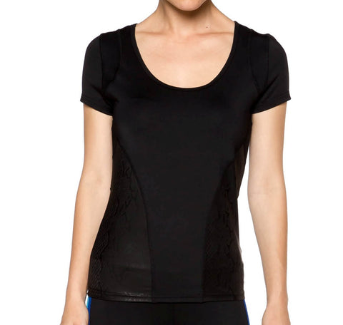 Black Workout Fitness Top - Fashion Sense - 1