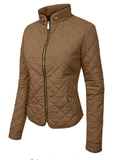 Quilted  Zip Jacket - Fashion Sense - 4