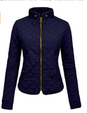Quilted  Zip Jacket - Fashion Sense - 6