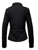 Quilted  Zip Jacket - Fashion Sense - 2