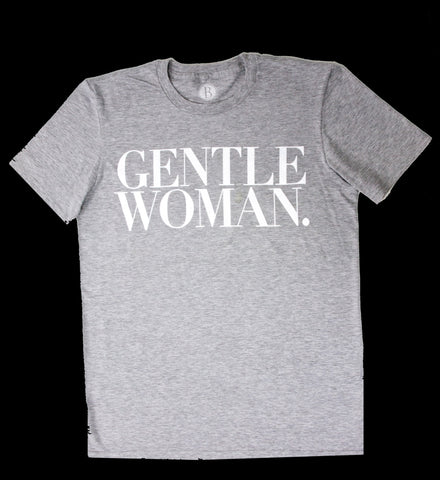 Gentlewoman Tee [Rare Oyster Grey]