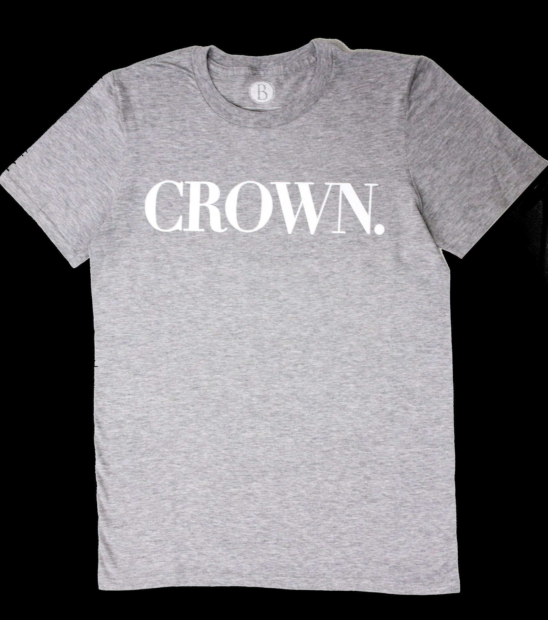 Crown Tee [Rare Oyster Grey]