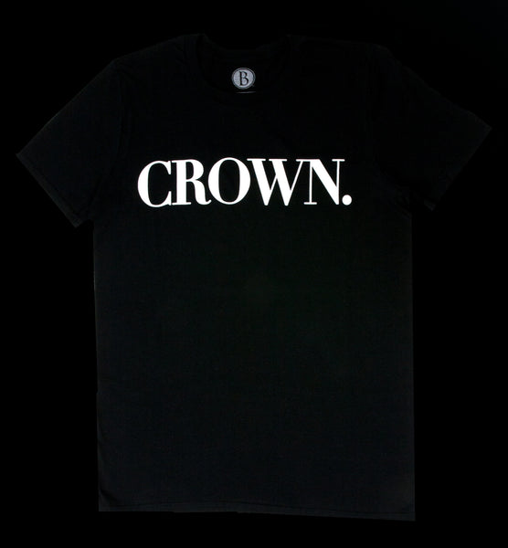 Crown Tee [Caviar]