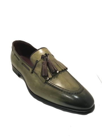 Emilio Franco Green loafer