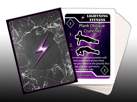 Fitness, Military Fitness Bodyweight Cards