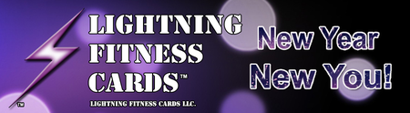 Lightning Fitness Cards