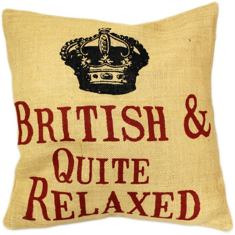 Cushion - British & Quite Relaxed