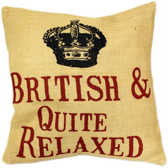 Cushion Cover -British