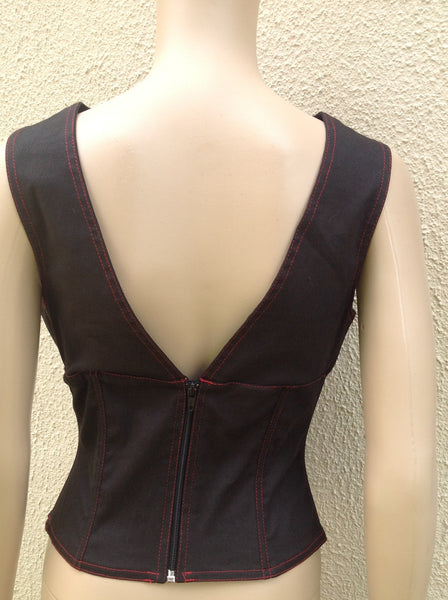Contrast V Front Top - Size 10