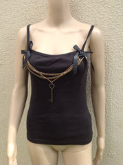 Golden Steam Vest Top