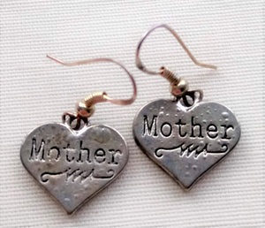 Earrings - Mother Hearts