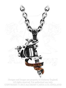 Alchemy Pendant - Tattoo Gun