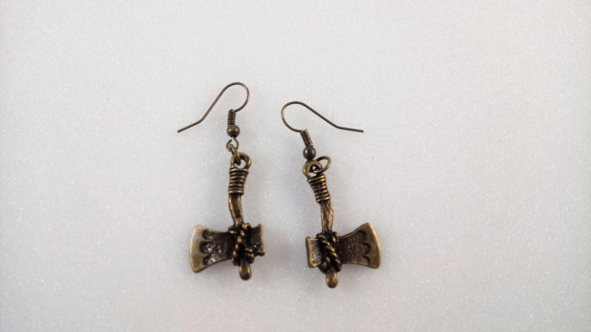 Axe Earrings