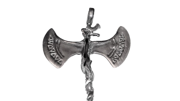 Axe Pendant - Sterling Silver